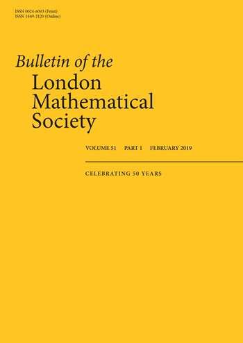 Bulletin of the London Mathematical Society   London