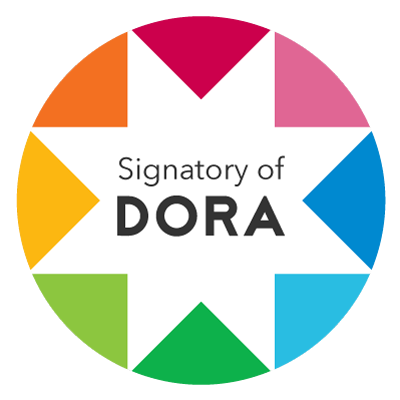 Logo indicating signatory of DORA