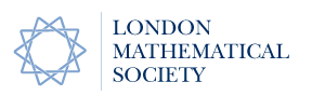 The logo of the London Mathematical Society